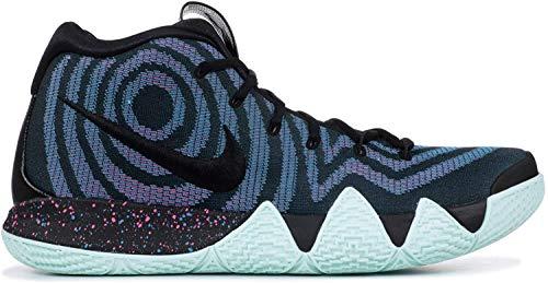 Nike Kyrie 4, Zapatillas de Gimnasia para Hombre, Negro (Black/Black/Laser Fuchsia 007), 47 EU