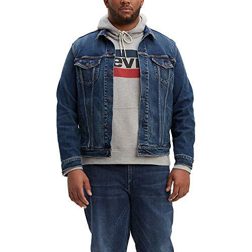 Levi's Men's Big Trucker Jacket, Colusa/way stretch, 3XL