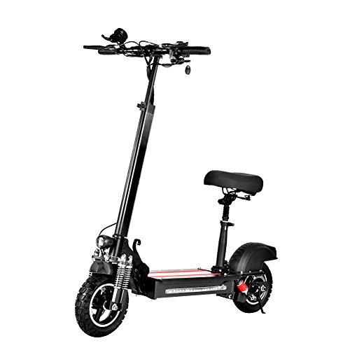 Patinete eléctrico, rodillo eléctrico plegable para adultos con motor de 600 W,...