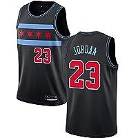 アダルトバスケットボールジャージ、シカゴクラシックレッド23 Jordana、No. 91 Rodmanスウィングマンサッカージャージ、ソフトテクスチャ、迅速な乾燥、通気性メッシュ Style 5-XXL