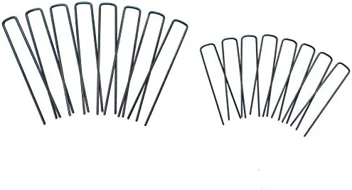 Bluefire Farm Supply 6 Inch Commercial Grade Heavy Duty Landscape Sod Staples Fabric Pins Steel product image