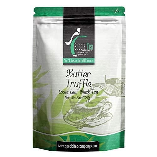 Special Tea Company Butter Truffle Black Tea, Loose Leaf 8 oz.