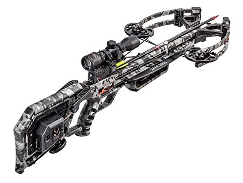 Wicked Ridge M-370 Crossbow with Acudraw, Multi Line Scope Package