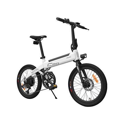 OUXI HIMO C20 Mountainbike für Erwachsene, elektrische Citybikes mit 250W 36V 10AH Lithiumbatterie und Shimano 6 Variables Geschwindigkeitssystem für Sport und Pendeln, Höchstgeschwindigkeit 25 km/h