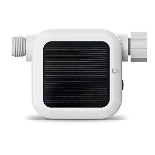 Netro Pixie Smart Hose Faucet Timer, WiFi, Solar Powered, Weather Aware