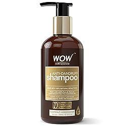 low poo products ~ wow anti dandruff shampoo