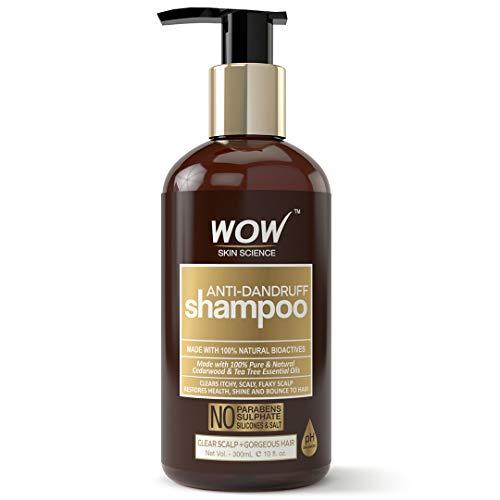 WOW Anti Dandruff Shampoo, 300ml