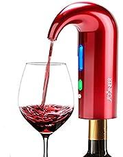 Elektryczny nalewak do wina, korek Multi-Smart Automatyczny dozownik wina - Premium napowietrzający nalewak i wylewka karafki - konserwator wina