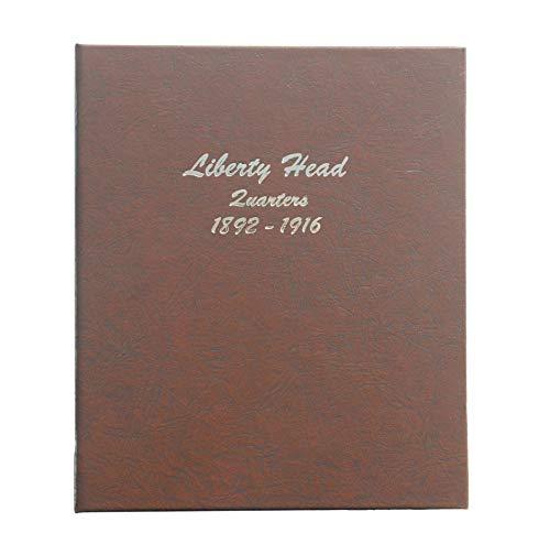 Dansco US Barber/Liberty Head Quarter Coin Album 1892 – 1916 #7130