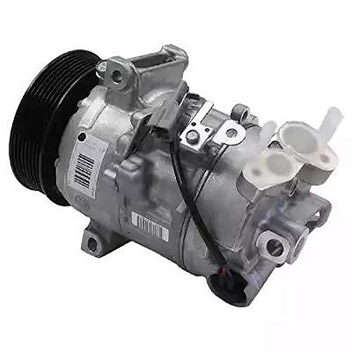 Compresor climatizador de aire acondicionado 9145374926349 EcommerceParts para constructor: GENUINE, ID compresor: 6SEL14C, polea de diámetro: 115 mm, N° de aletas: 7, Voltaje: 12 V