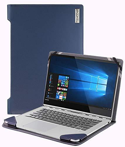 Broonel - Profile Series - Blauw lederen Hoes - compatibel met de ASUS ZenBook Pro 15.6