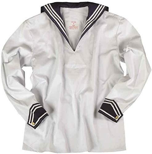 Mil-Tec BW Marinehemd weiß m.Marinekragen Gr.54