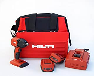 Hilti 03482620 SIW 18-A 1/2-Inch 18-volt CPC Cordless Compact Impact Wrench with Tool Bag and 1/2-Inch Square Chuck