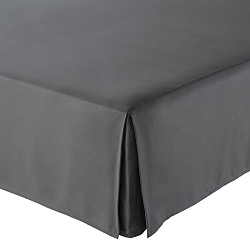 AmazonBasics Pleated Bed Skirt -...