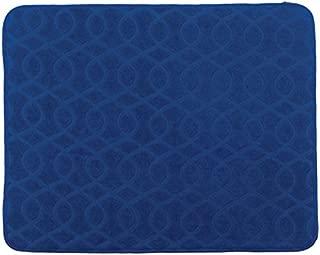 Kay Dee Designs Necessities Microfiber Countertop Drying Mat, Cobalt