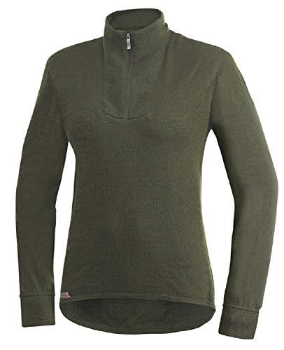 Woolpower 200 Turtleneck Long Sleeve Zipp Shirt Men - Unterwäsche, grün - XL