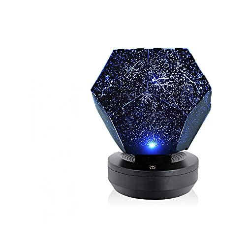 LED Star Projector Night Light - 3D Romantic Star Projector Lamp Gifts for Kids Baby Adults Bedroom Holidays Constellation Projection Home Planetarium