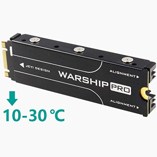 Baoblaze Disipador Térmico de Aluminio Doble Cara para PCIe NVMe M ...