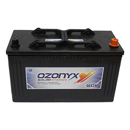 Plusenergy wccsolar Bateria Solar 12v 125ah Ozonyx 125AH Sellada Sin Mantenimiento