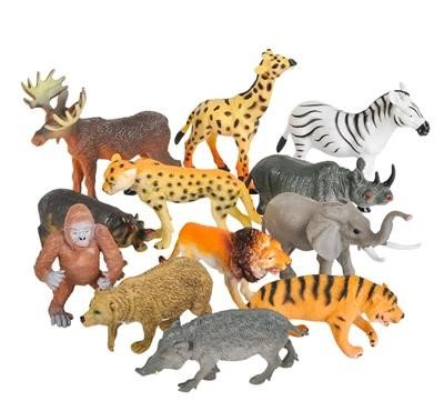 Neliblu Realistic Animal Toy Figures -...
