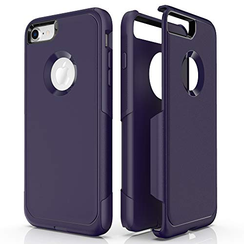 Baricy Pioneer Series iPhone 8 Hüllen – Kompatibel mit iPhone 7 Hüllen & iPhone SE 2020 Hüllen (zeigt Apple Logo nicht) Premium Stoßfest Handyhülle (Maritim Blau)