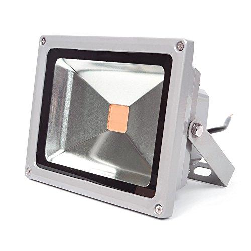 LEDMO 30w Flood Lights 3.0 LED Waterproof IP65 for Outdoor, 3000K, 2400LM, 150W Halogen Equivalent, Security Lights, Flood Light, Warm White