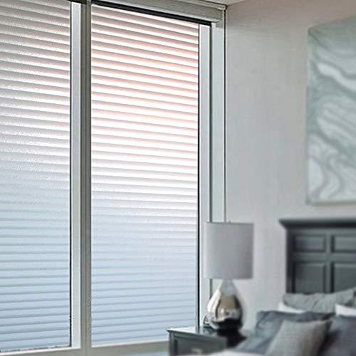 Emmala raamfolie, ondoorzichtig, zonwering, zelfklevend, voor ramen, zelfklevend, voor toilet, badkamer, kantoor, 60 x 200 cm 60X200Cm B