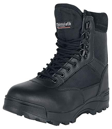 Brandit Zipper Tactical Unisex Stiefel schwarz EU41