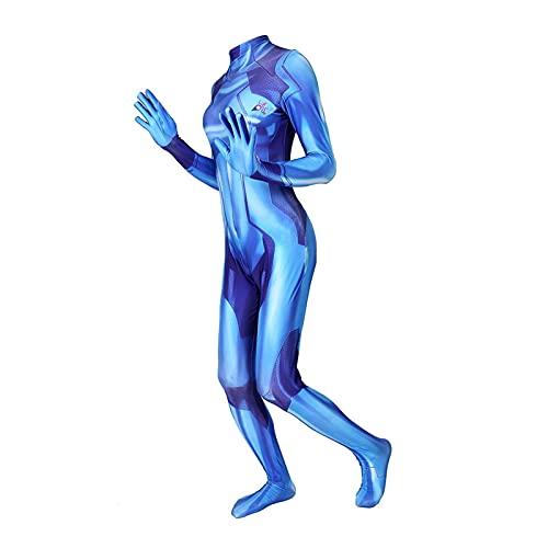 ADZPA Unisex MEZING Highs Samus Cero Costura Cosplay Cosplay,Ideal for Disfrutar Elegante,Halloween,Traje de Poesía,Adultos for niños Regalo de Personalidad de Moda (Color : Women, Size : XXL)