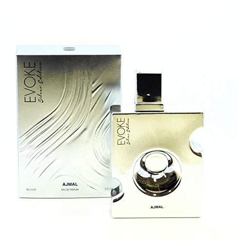 Ajmal Evoke Silver Edition by EAU De Parfum Spray 3 oz / 90 ml (Men)