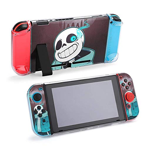 Unde-rtale Case for Nintendo Switch,Protective Case Cover for Switch and Joy Con Controller,Switch with Shock-Absorption and Anti-Scratch Design(Unde-rtale)