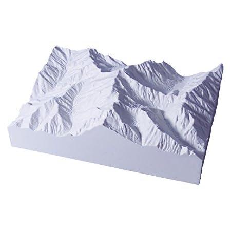 青島文化教材社 スカイネット 1/50000スケール 精密山岳模型 やまなみ 北アルプスシリーズ No.03 槍ヶ岳 南岳 プラスチック完成品