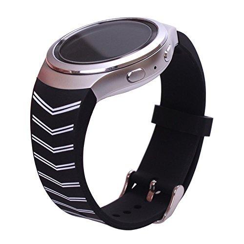 Ykunjade Gear S2 SM-R720 Correa, Silicone Watch Correa Strap For Samsung Galaxy...