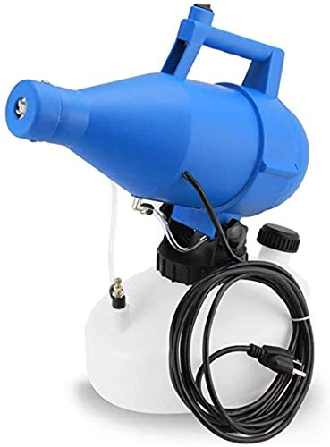 JEANN-AZCX El pulverizador eléctrico ULV, 4.5L portátil Fogger máquina de desinfección de la máquina del Asesino del Mosquito Fogger desinfección Higiene Jardín pulverizador