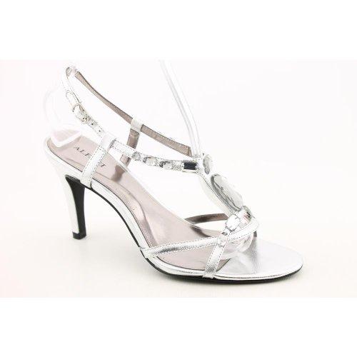 Alfani Women's Riona Sandal (11, Silver)