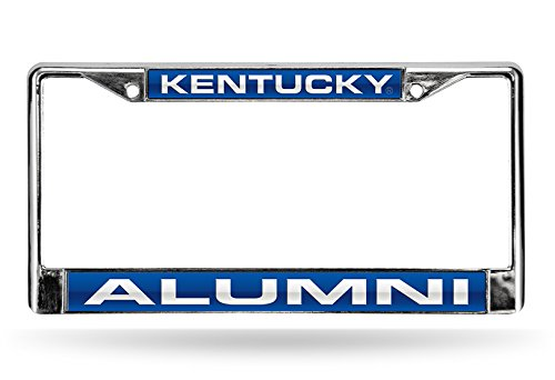 Rico Industries Fan Shop FCLA190110 Kentucky Alumni Laser Chrome Frame, Team Color, 6 x 12.25-inches