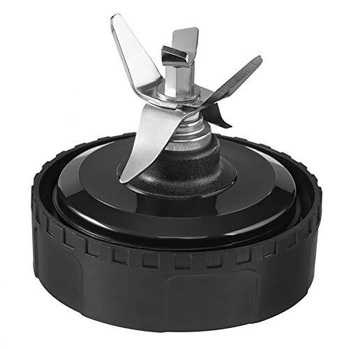 For Ninja Blender Bottom Blade Replacement Parts, Bottom Blade 6 Fins and 1 Gasket Rubber for Nutri Ninja Blender Cup BL770, BL771, BL772, BL773CO, BL780, BL780 CO only fit for 16 oz