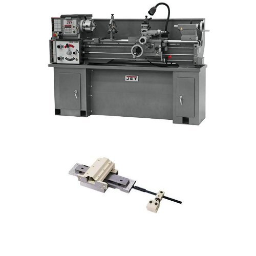 Lowest Price! JET BDB-1340A Lathe with CBS-1340A Stand with Taper Attachment