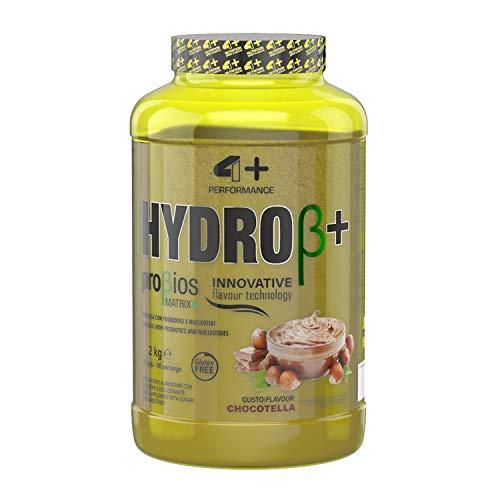 4+ NUTRITION - Hydro β+, Integratore Sportivo, Proteine Idrolizzate del Siero del Latte, Aumento di...