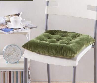 Número de artículo ZUODIAN: Cojín para 6 estudiantes, asiento de oficina, cojín para silla, cojín de taburete, almohadilla para el trasero, tatami., Tela de felpa, verde oliva., Buy 5-10 units.