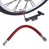 huiouer Fahrradpumpen-Adapter für Schlauchadapter mit Nadelventil, Basketball, Fußball, Luftbett-Reifen