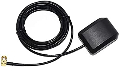 Waterproof GPS Active Antenna 28db LNA Gain, SMA Male Plug Aerial Extension Cable, Stronger Signal
