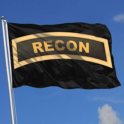 GSNWFG Army Recon 3x5 Foot Flags Outdoor Flags 100% Single-Layer Translucent Polyester 3x5 Ft