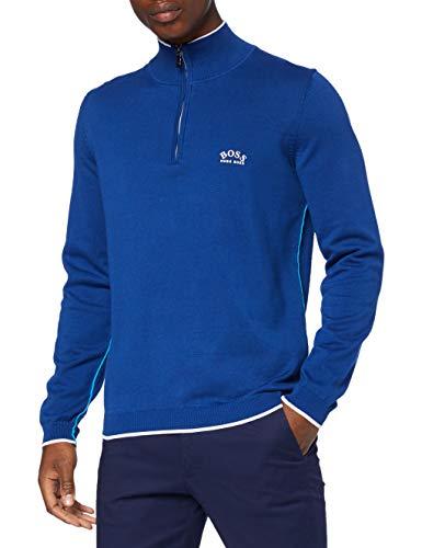 BOSS Ziston_w20 Pull-Over, Bleu Ouvert (493), XL Homme