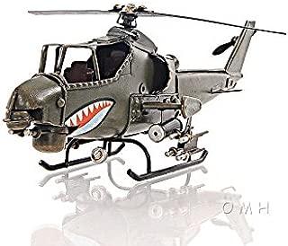 Bell Ah-1 Cobra Snake Metal Desk Top Model 13