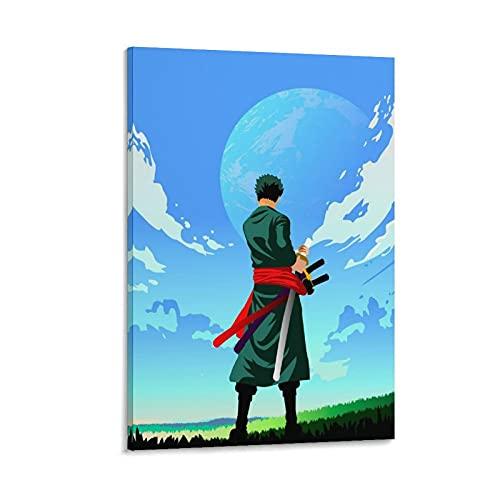 Cloud World - Lienzo decorativo para pared (40 x 60 cm)