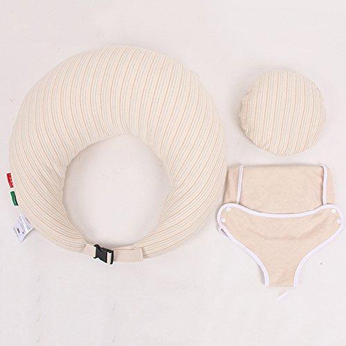 LJHA Oreillers d'allaitement Artefact d'allaitement infantile Tenir l'oreiller Oreillers de lait anti-broche Coussin 3 couleurs disponibles 60 * 60cm Oreillers d'allaitement ( Couleur : B )