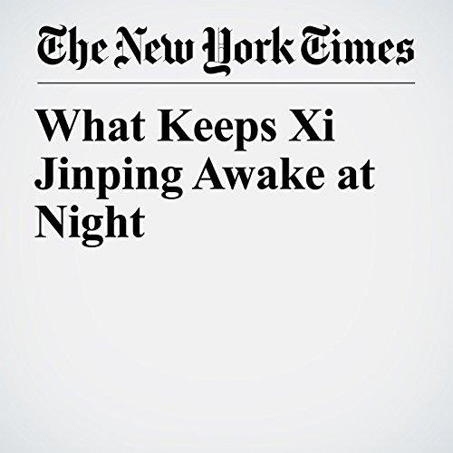 What Keeps Xi Jinping Awake at Night copertina