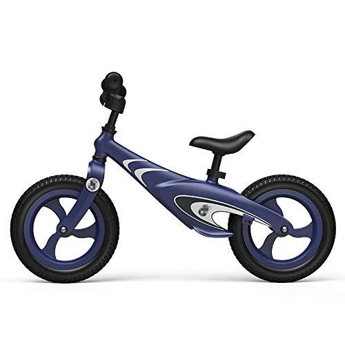 YSCYLY Bicicleta De Equilibrio,Bici per Bambini in lega di magnesio, ruote gonfiabili,Balance Bicicleta Aprender A Caminar Sin Pedal