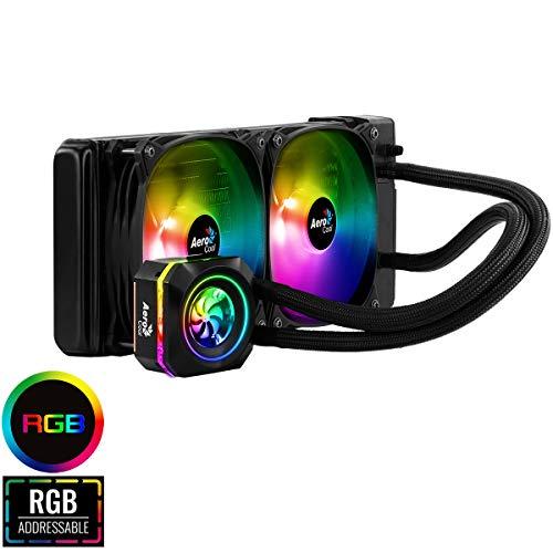 Aerocool 240mm ARGB Intel/AMD CPU Liquid Cooler